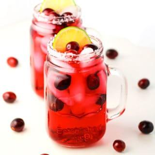 Festive Cranberry Margarita
