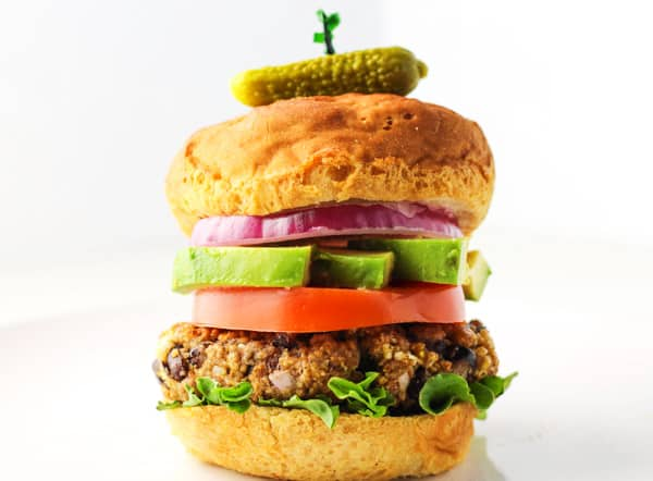 These are seriously THE BEST Gluten Free Black Bean Burgers!