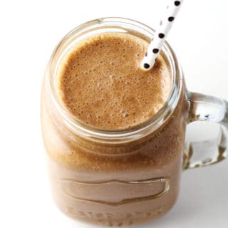 Healthy Tahini Chocolate Smoothie