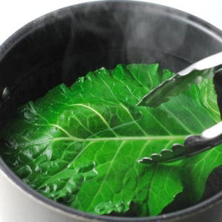 How To Blanch Collard Greens