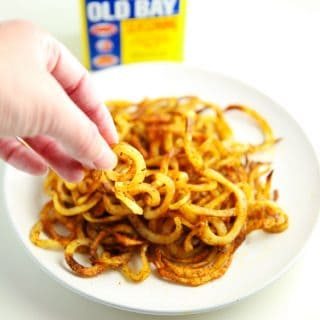 Spiralized Cajun Fries