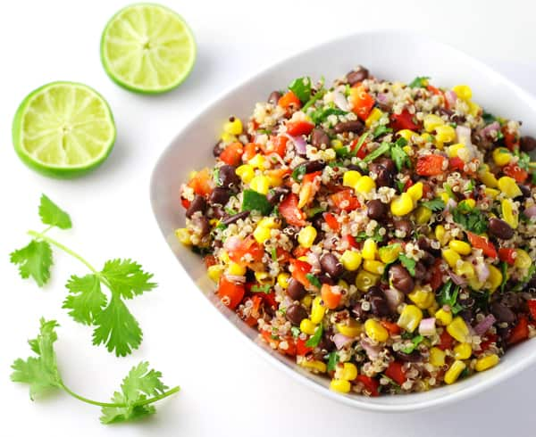This healthy, flavorful salad is the perfect side dish to take along to your next summer BBQ or picnic. Or you could keep this all to yourself and have healthy lunches for the week, this makes for a great Meal Prep as well!