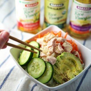 Easy Tuna Sushi Bowls