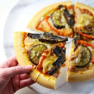 Roasted Vegetable Pizza (Gluten Free)