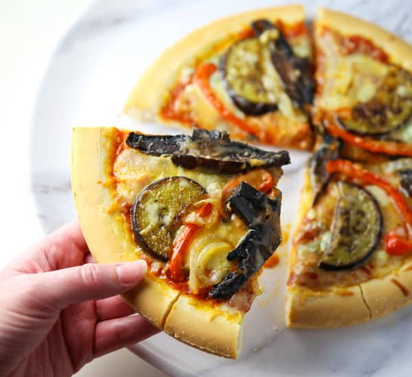 Finally a Roasted Vegetable Pizza that is super delicious and Gluten Free!!