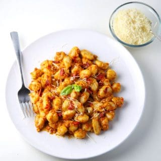 Sun-Dried Tomato Pesto Gnocchi (Gluten Free)