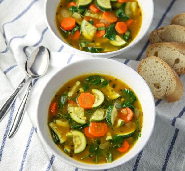 This Vegetable Detox Soup is loaded with goodness and is so flavorful and satisfying!