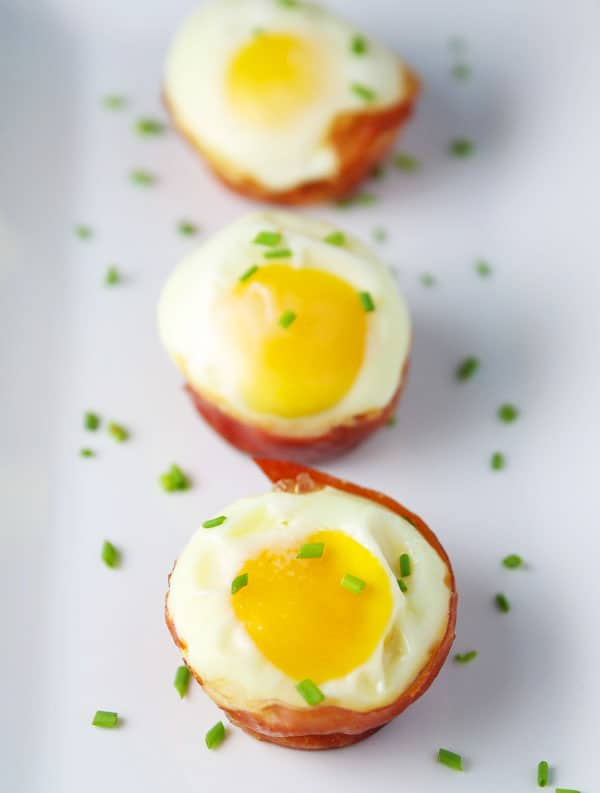 These Prosciutto Cheese Egg Cups are super easy to make. This is perfect for meal prepping and is a great Low Carb Breakfast!