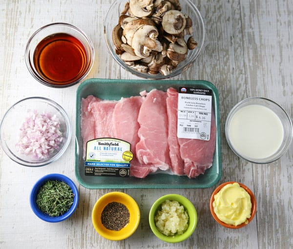 #ad These Slow Cooker Pork Chops are so tender, juicy, and savory! This will be your new favorite weeknight meal! @walmart @SmithfieldBrand