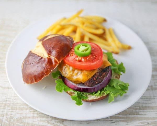 Grilled Jalapeño Burger