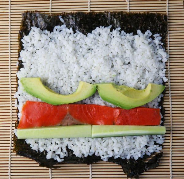 Sushi prepping