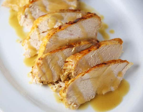 Sliced Turkey Breast with gravy