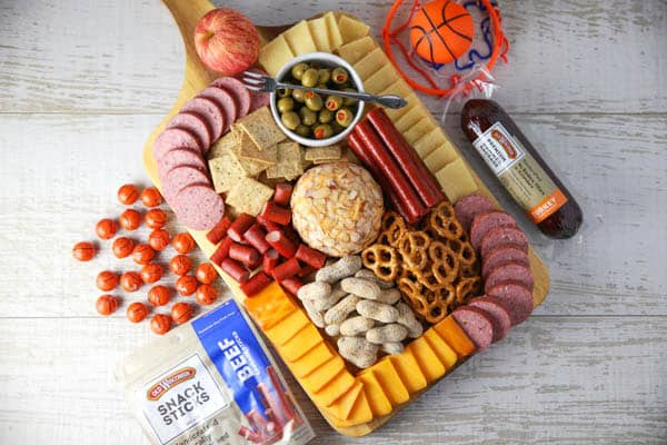March Hoops Charcuterie Board
