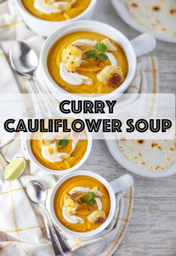 Curry Cauliflower Soup