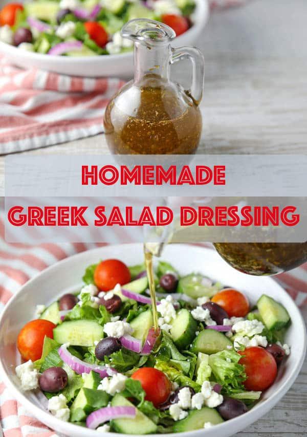 Homemade Greek Salad Dressing