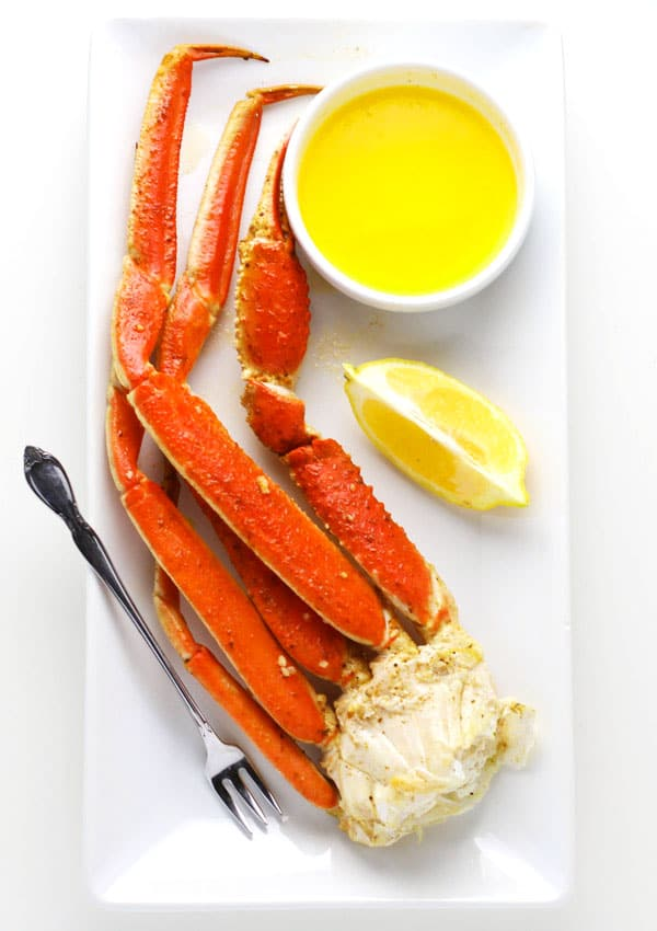 Easy Baked Snow Crab