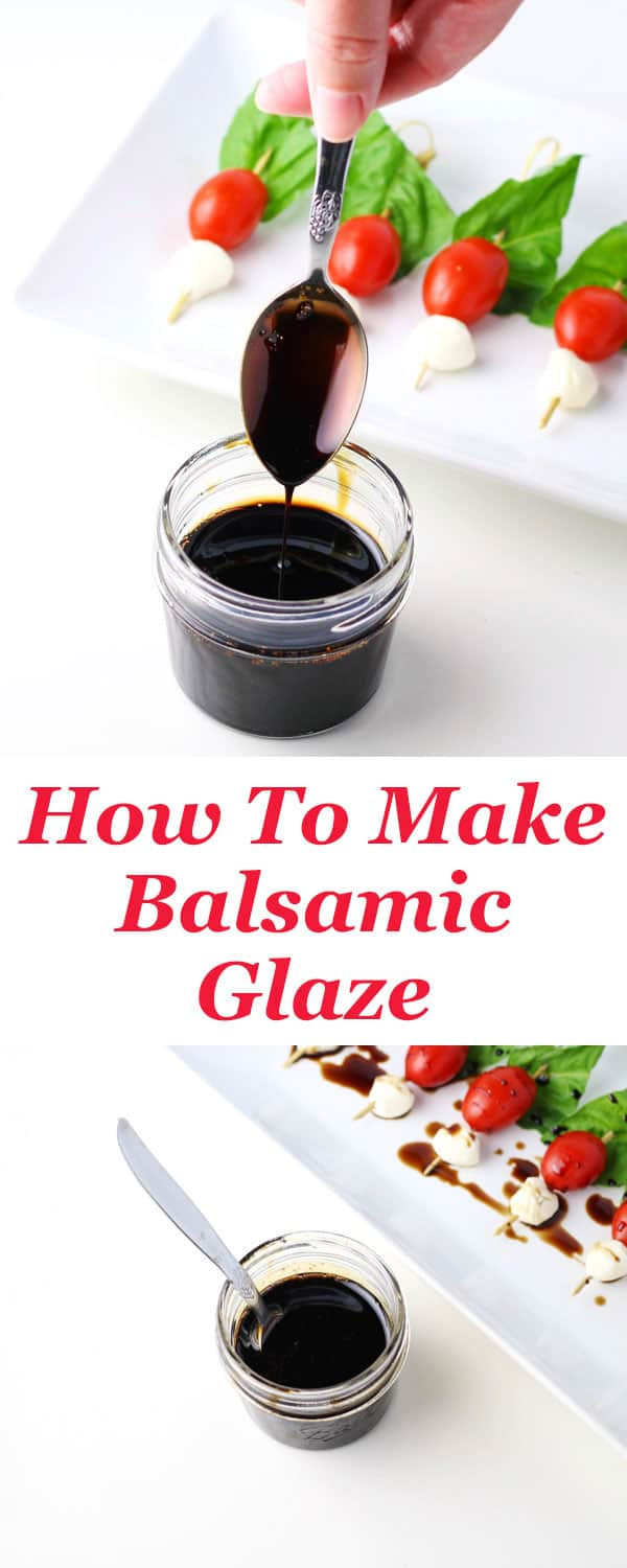How To Make Balsamic Glaze Tastefulventure
